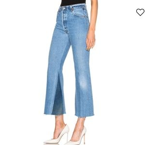 Levi's RE/DONE 28 Redone Leandra Jeans High Rise